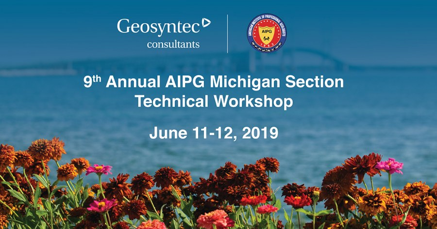 Geosyntec Staff to Present at the 9th Annual AIPG Environmental Risk Management Workshop: Hazardous Substances in Soil, Groundwater, and Vapors