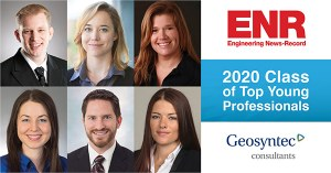 Geosyntec Personnel Named in ENR Regionals' 2020 Top Young Professionals List