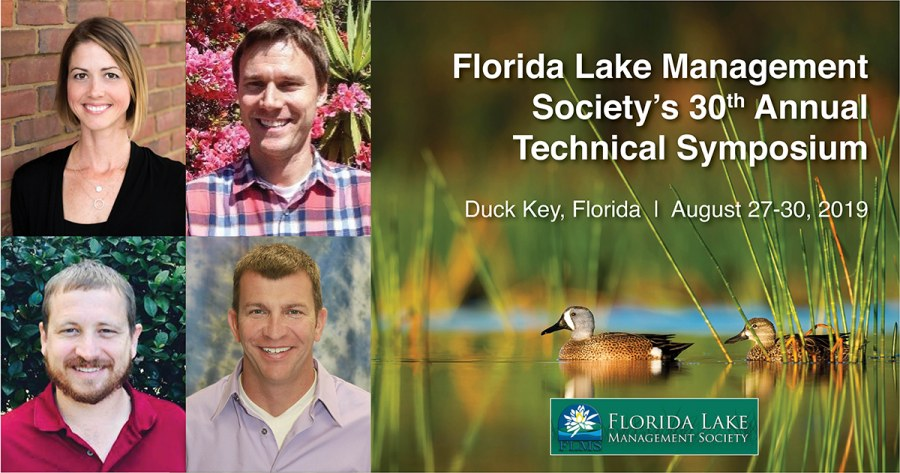Geosyntec Practitioners to Speak at Florida Lake Management Society's 30th Annual Technical Symposium