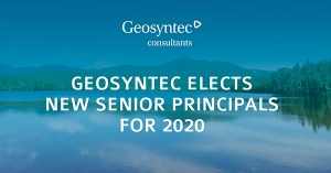 Geosyntec Elects New Senior Principals for 2020