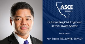 Ken Susilo Honored with the ASCE Region 9 Outstanding Civil Engineer in the Private Sector Award