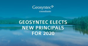 Geosyntec Elects New Principals for 2020