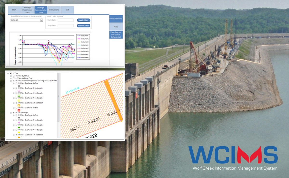 Geosyntec's deployment of tools to manage and visualize all project data, including instrumentation data; data associated with barrier wall construction elements; verticality measurements; and more, give the client and other project team members' immediate access to key project performance metrics.